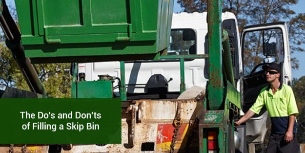 Do's Don'ts Filling Skip Bins