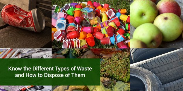 Different Types Waste Dispose