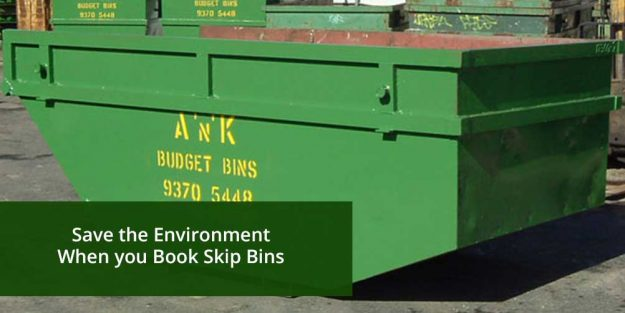 Save Environment When Book Skip Bins